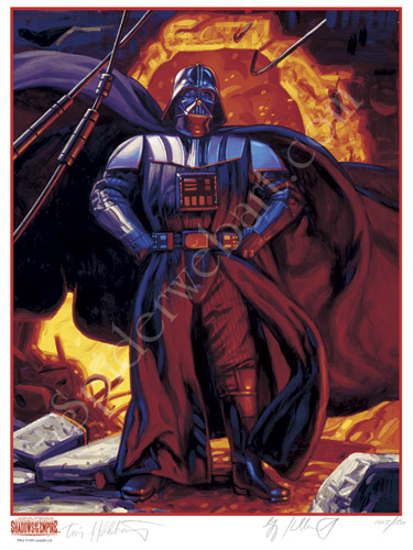 Darth Vader - SIGNED BY GREG AND TIM, Brothers Hildebrandt