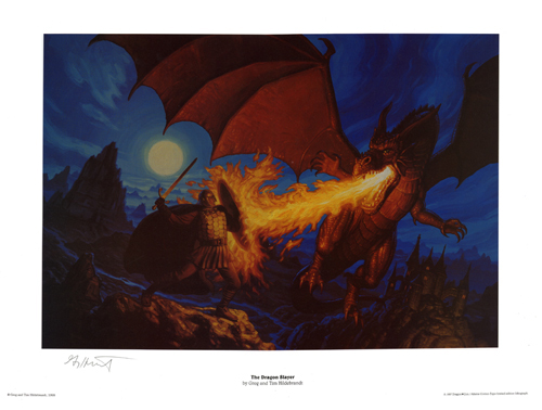 The Dragon Slayer, Brothers Hildebrandt