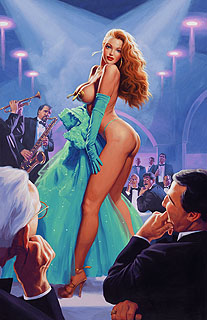 Emerald Evening - 11x17 Giclee, Greg Hildebrandt