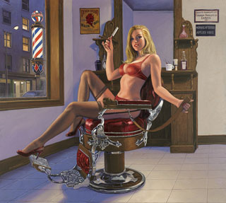 Shave and a Haircut - Photo Print - Large, Greg Hildebrandt