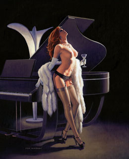 Ebony and Ivory - 11x17 Giclee, Greg Hildebrandt