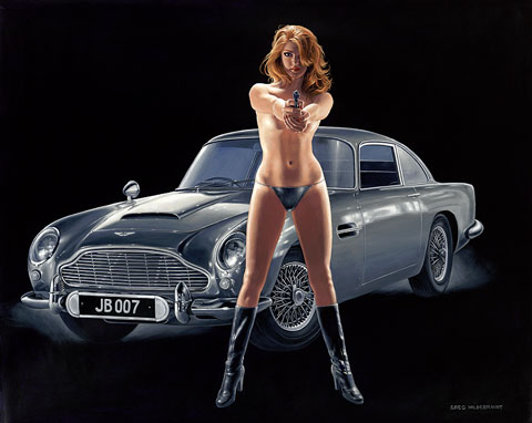 License to Kill - 11x17 Giclee, Greg Hildebrandt