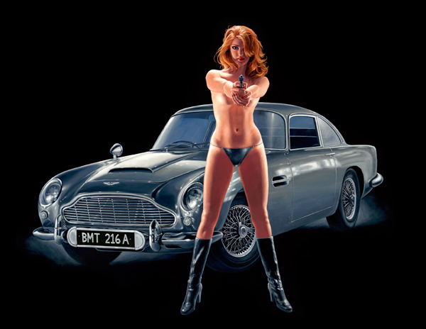 License to Kill - Photo Print - Large, Greg Hildebrandt
