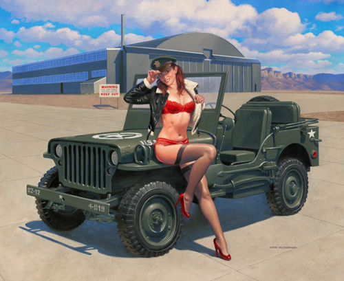 Give a Lady a Lift? - Photo Print, Greg Hildebrandt